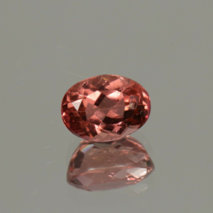 Tourmaline Orange-Pink Oval Cut