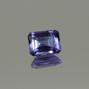 Tanzanite Medium Purplish Blue Emerald Cut