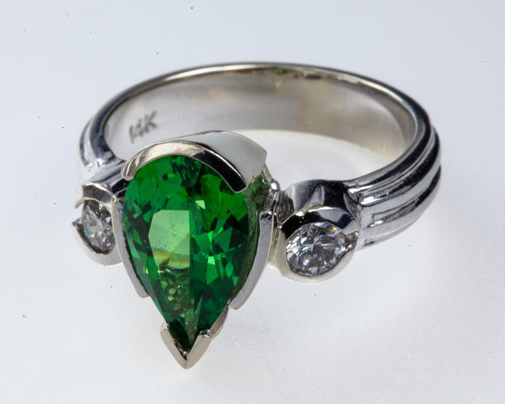 Custom Jewelry - Tsavorite